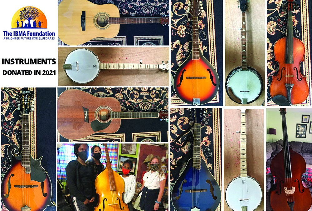 Have you thought about donating those instruments in your closet to the IBMA Foundation?