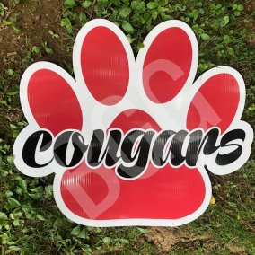 cougar-paw-sign
