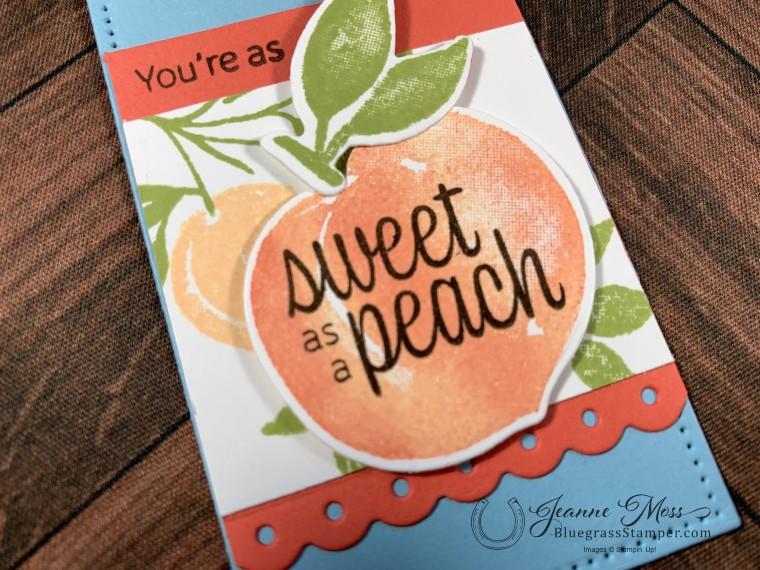 Sweet As A Peach Detail