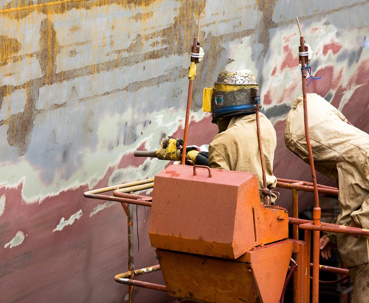 Paint sandblasting bluegrass surplus for Sandblasting and painting