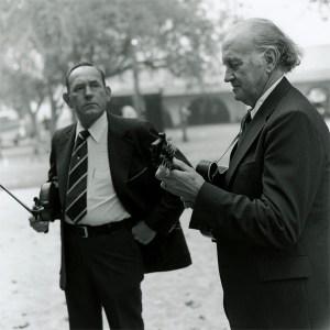 Kenny Baker and Bill Monroe