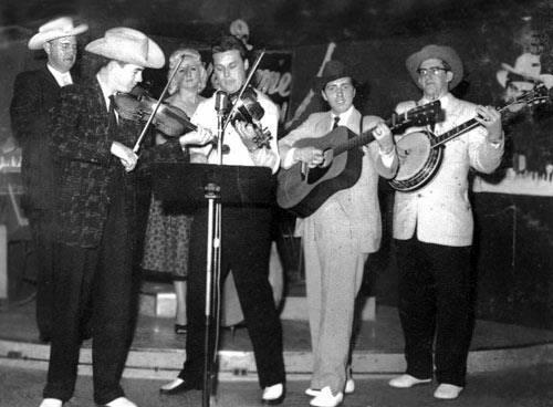 Single Mic - Bikll Monroe & the Blue Grass Boys