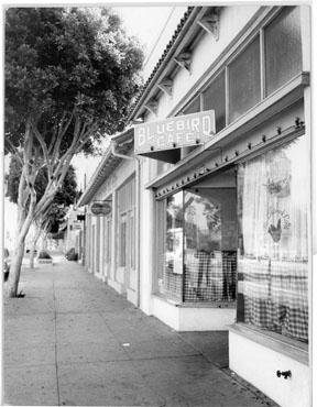 The Bluebird Cafe, 33 W. Anapamu St., Santa Barbara, CA 1972