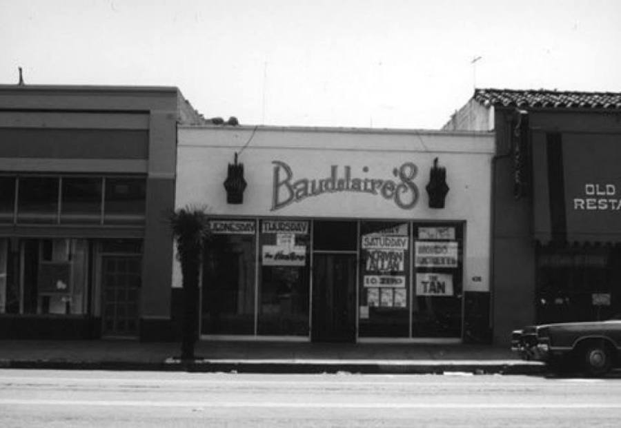 Baudilaire's on lower State Street.