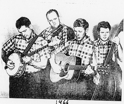 Floyd County Boys, 1966. Chuck Flannery, Doug Sherwood, Todd Grant, Phil Pritchard