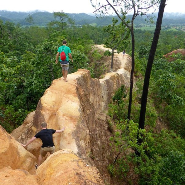 Hike in Pai