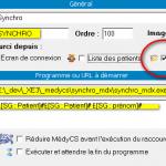 MedyCS : Créer une passerelle avec Synchro_MDX