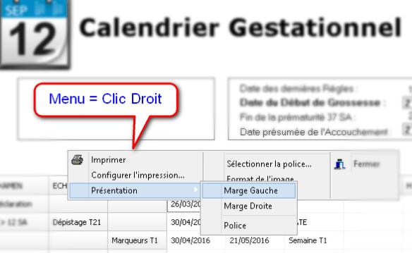 Calendrier Gestationnel.Rollmobs 16 3 Mes Programmes