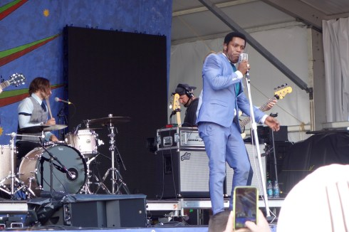 Vintage Trouble rocking the Gentilly Stage