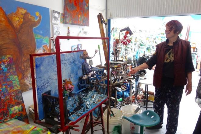 Gonzalo's studio