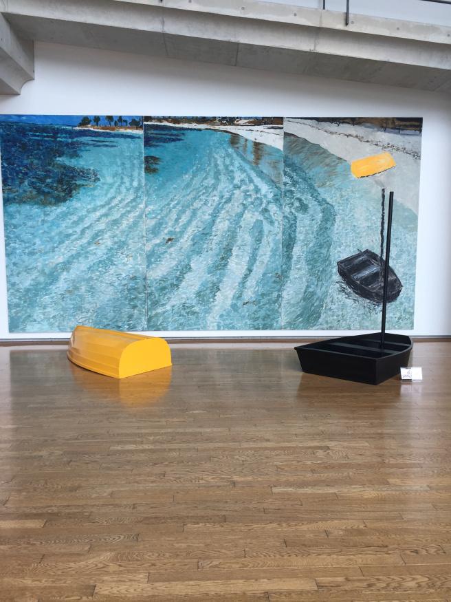 Jennifer Bartlett's art installation