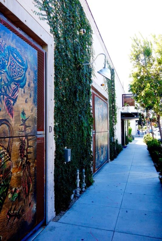 The Funk Zone in Santa Barbara