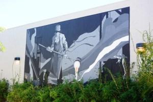 Mural in the Funk Zone, Santa Barbara