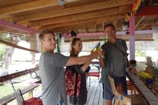 The Tiki Cafe on Harbour Island