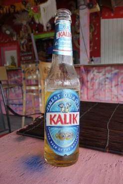 Kalik, the local beer
