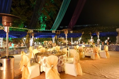 Tables at Sangeet