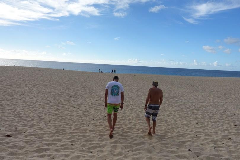 Ke Iki Beach on the North Shore of Oahu