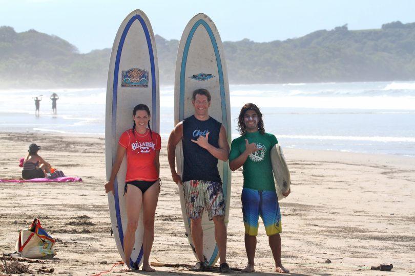 Safari Surf School in Nosara
