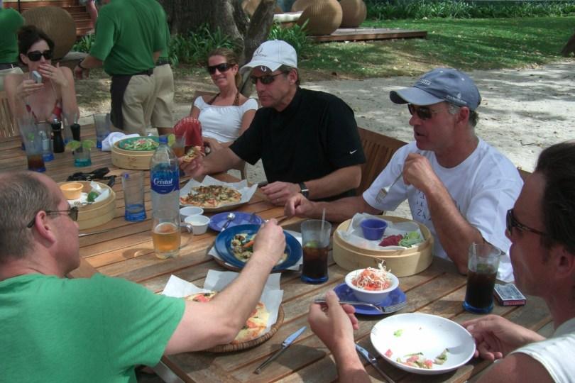 Lunch at Prieta Beach Club
