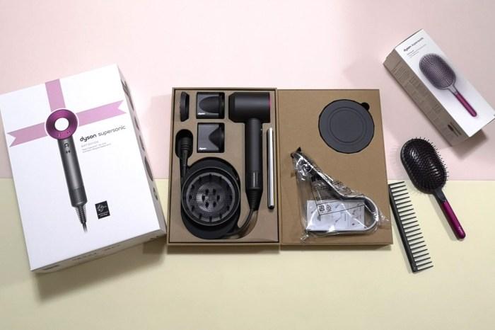 受保護的內容: 一台入手,通通吹頭通通有,贈品最超值團,最新Dyson Supersonic™ HD03 吹風機