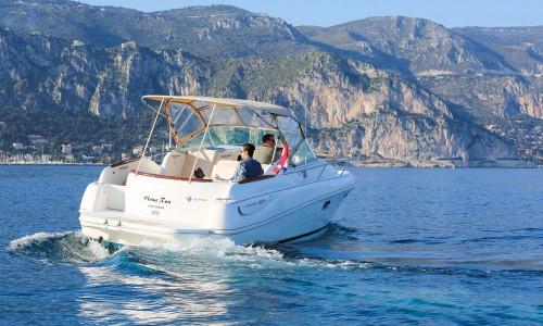 leader 805 boat rental saint jean cap ferrat monaco