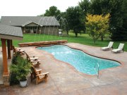 in ground swimming pool builder Michigan Clarston, Milford, Fenton, Oxford, Lansing, Shelby Mi. inground Swimming pool Installation Clarkston Michigan Swimming Pool Sale www.bluehawaiianpoolsofmichigan.com 12 - blue hawaiian pools of michigan Lexington Free Form Pool