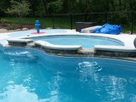 in ground swimming pool builder Michigan Clarston, Milford, Fenton, Oxford, Lansing, Shelby Mi. inground Swimming pool Installation Clarkston Michigan Swimming Pool Sale www.bluehawaiianpoolsofmichigan.com 13-2