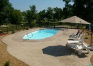 in ground fiberglass pool sale Michigan Sea Shore 01a