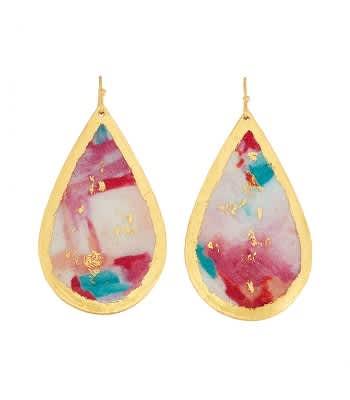 Large Bermuda Teardrop Earrings