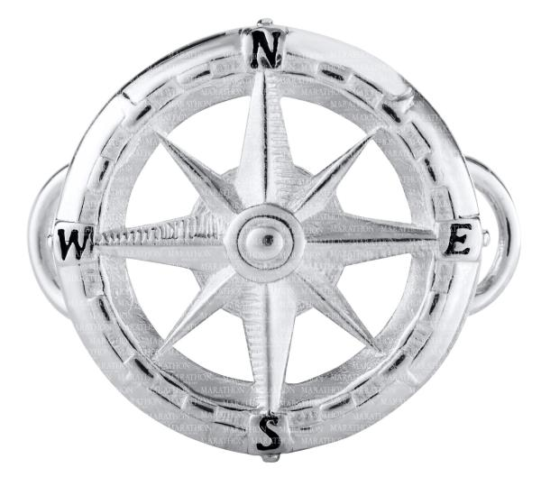 Compass Rose Convertible Clasp