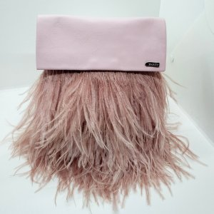 Blush Feather Tiffany Bag