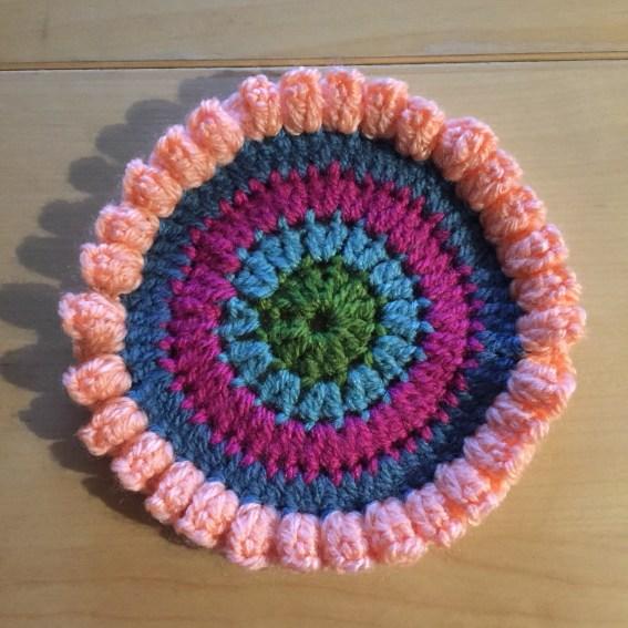 Mandala inspired coaster