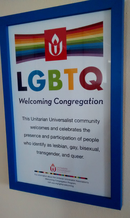 lgbtq welcoming poster