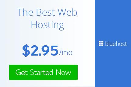 web hosting bluehost