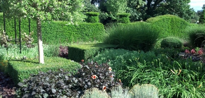 Private US Ambassador's Garden UK