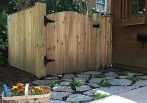 Photo of stone patio