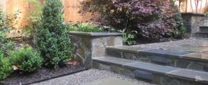 Photo of flagstone steps