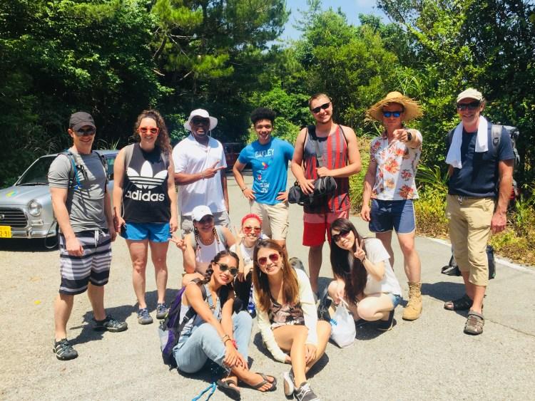 みんなで半日滝ツアーに行きました!Took a day trip to Fukugawa waterfall!