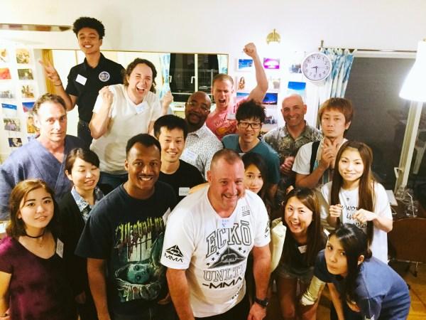 実践会での集合写真2。A group photo from Language Exchange 2.