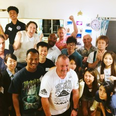 実践会での集合写真2。A group photo from Language Exchange 2.