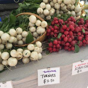 turnips radish