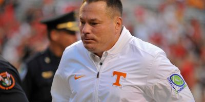 Butch Jones Tennessee Vols