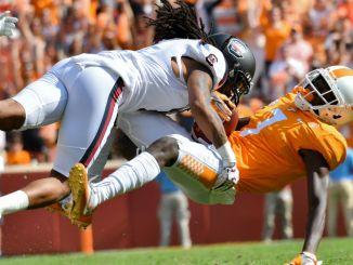 Tennessee Vols lose to South Carolina