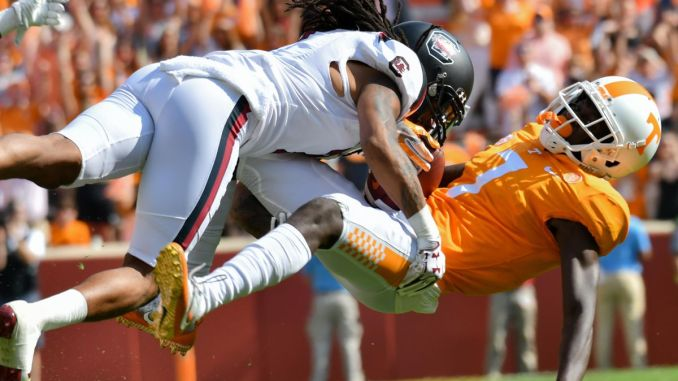 Tennessee Vols lose to South Carolina