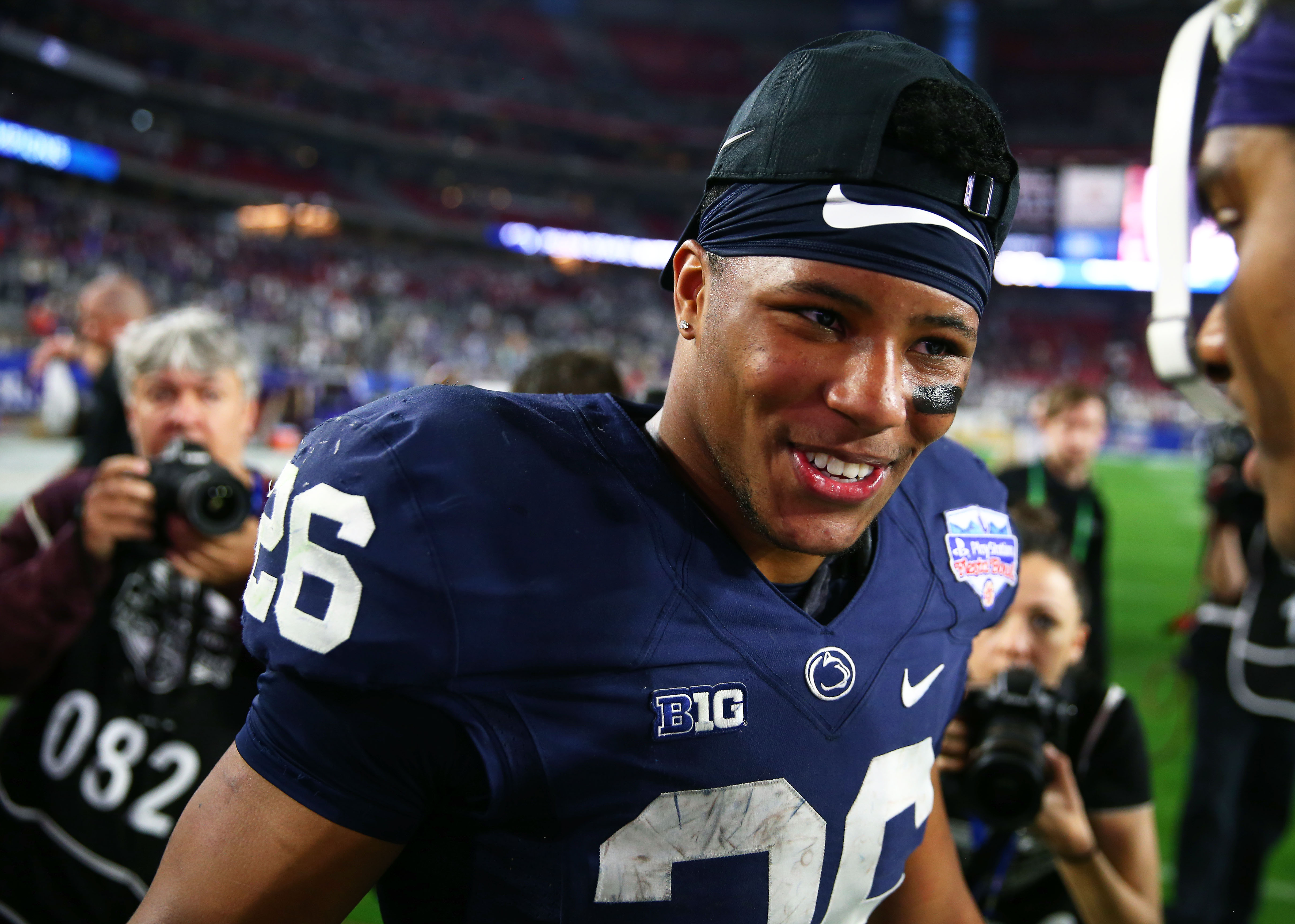 Todd McShay Now Rates Saquon Barkley As Top Draft Prospect