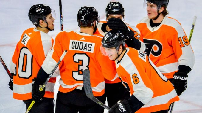 Mid Season Review Flyers Rookies And Prospects Blue Hq Media Llc