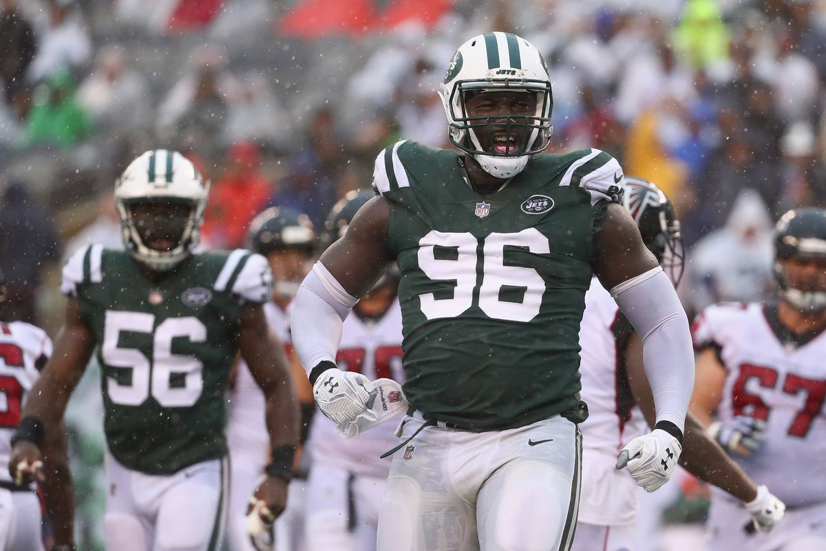 Defensive lineman Muhammad Wilkerson visiting the Saints