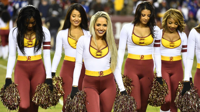 Redskins Issue Statement About Allegations Cheerleaders Forced To Act As 'Escorts'
