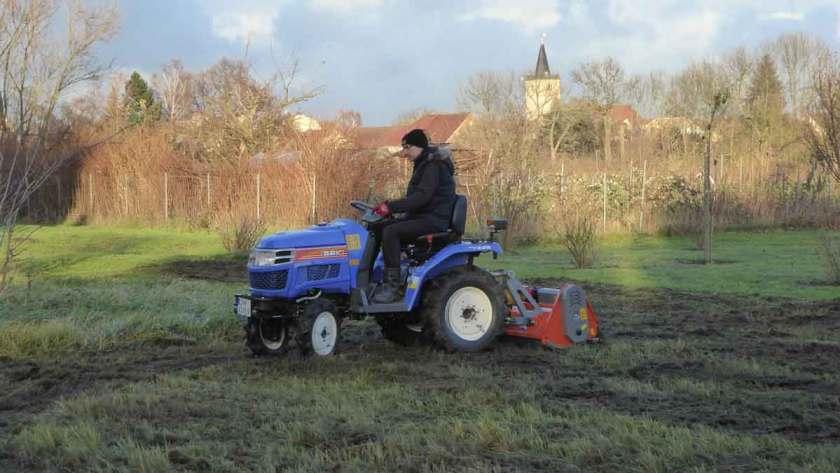 Traktor in Beelitz