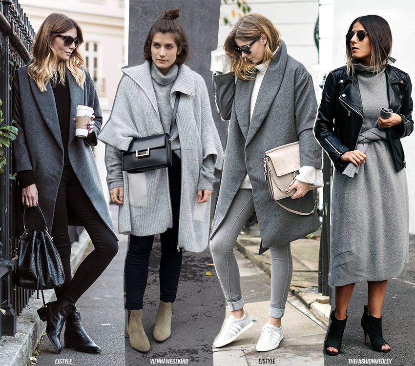 Image result for grey on grey outfit